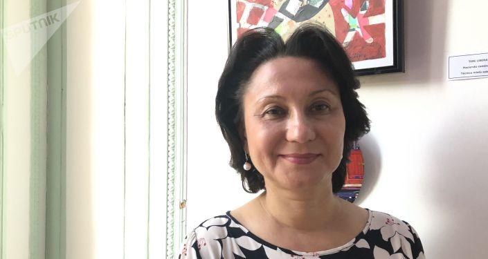 Larisa Efremova, vicerrectora de Asuntos Internacionales de la Universidad de la Amistad de los Pueblos de Rusia