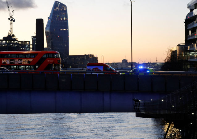 Situación en el puente de Londres tras el ataque