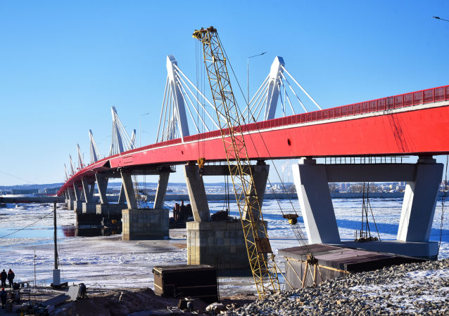 El puente que une Rusia con China