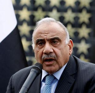 Adel Abdul Mahdi, ex primer ministro de Irak