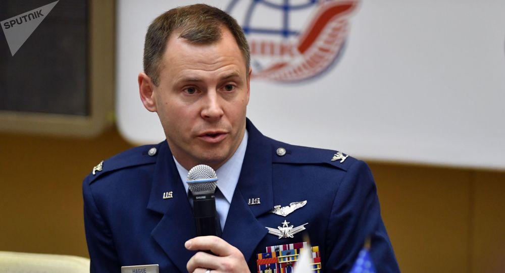 Nick Hague, astronauta estadounidense (archivo)