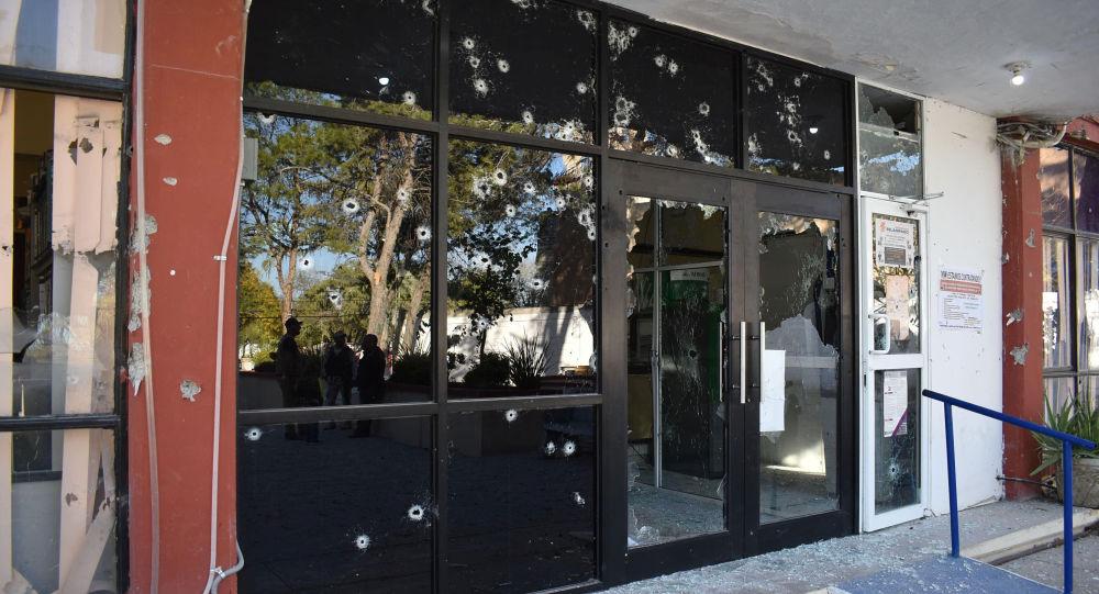 El lugar del enfrentamiento en un municipio mexicano de Villa Unión