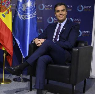 Antonio Guterres y Pedro Sánchez en la cumbre climática COP25