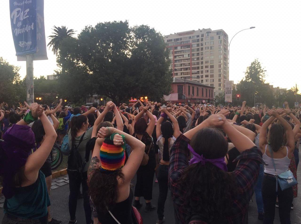 Intervención en Plaza Ñuñoa