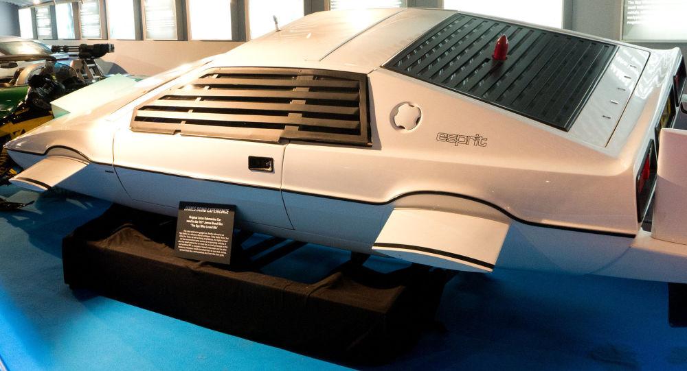 El Lotus Esprit usado en The Spy Who Loved Me