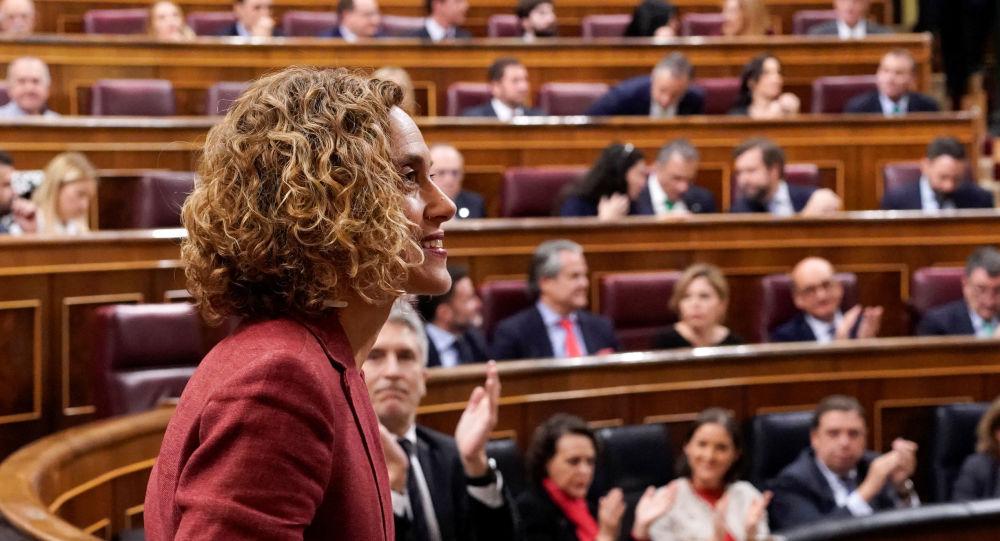 Meritxell Batet socialista eligida como presidenta de la Cámara Baja del Congreso de los Diputados de España