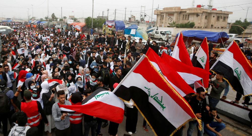 Protestas antigubernamentales en Irak