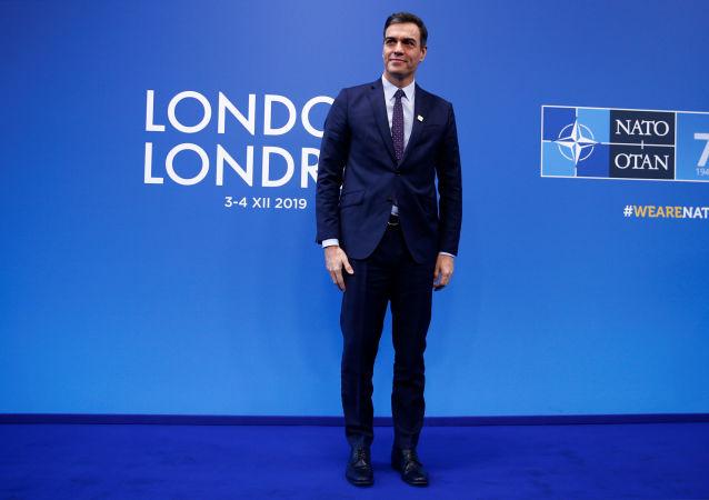 Pedro Sánchez, presidente del Gobierno español en funciones