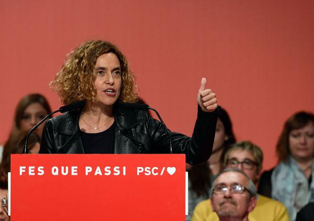 Meritxell Batet, reelegida presidenta del Congreso en España