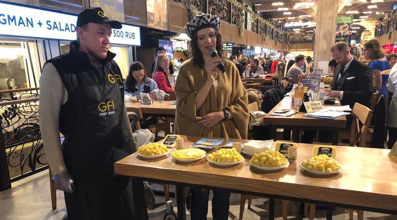 Día de Argentina en el Mercado Central de Moscú, Rusia