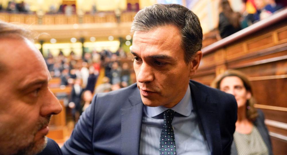Pedro Sánchez, el presidente en funciones del Gobierno de España