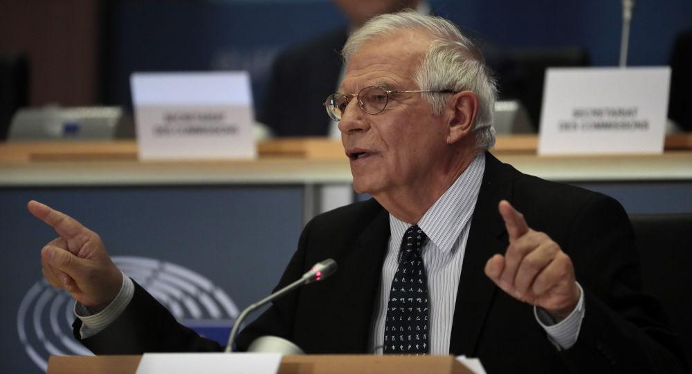 Josep Borrell, el jefe de la diplomacia de la UE (archivo)