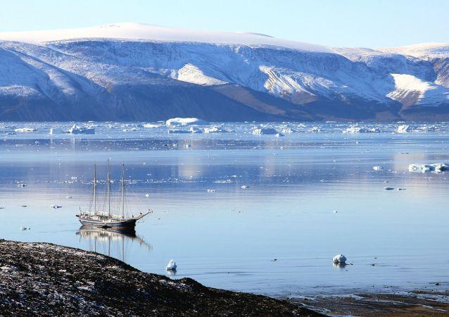 Lago en Groenlandia