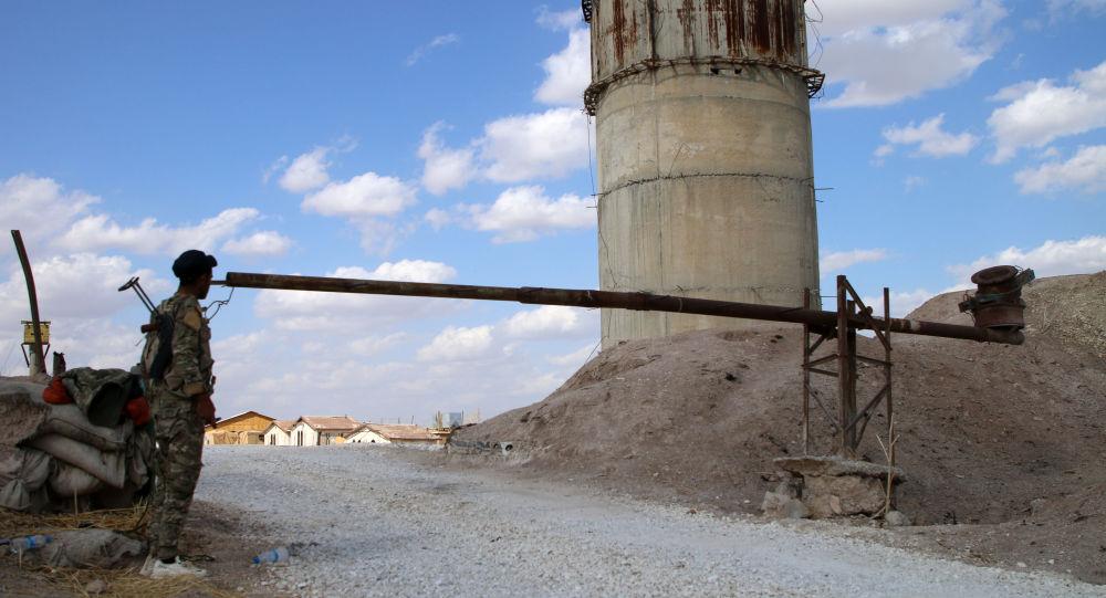Una base militar estadounidense en Siria