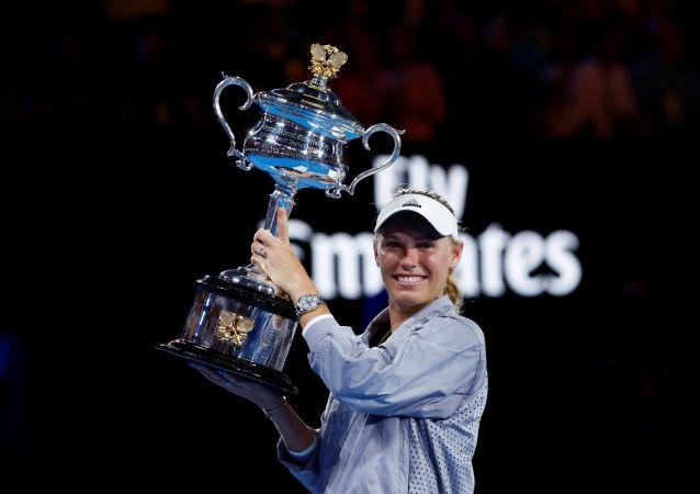 La ex primera raqueta del mundo, Carolina Wozniacki