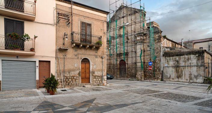 Ciudad de Bivona, Italia