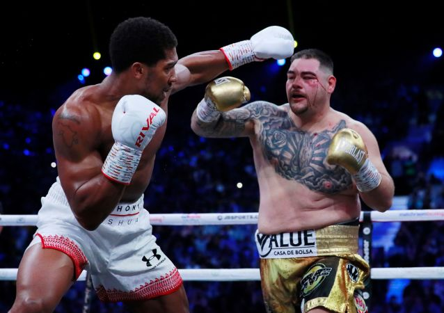 Anthony Joshua y Andy Ruiz