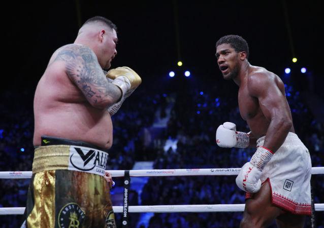 La pelea entre Andy Ruiz y Anthony Joshua