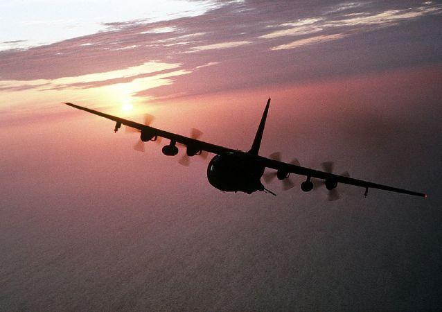 Un avión Hercules (imagen referencial)