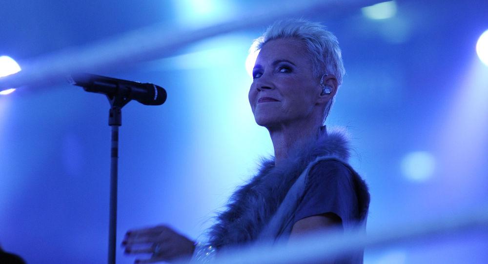 Marie Fredriksson, la cantante de Roxette