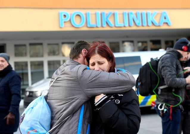 El hospital en la ciudad checa de Ostrava donde se produjo un tiroteo