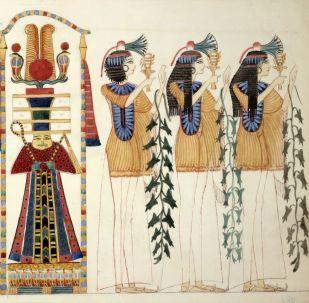 Conos en el Antiguo Egipto, imagen ilustrativa