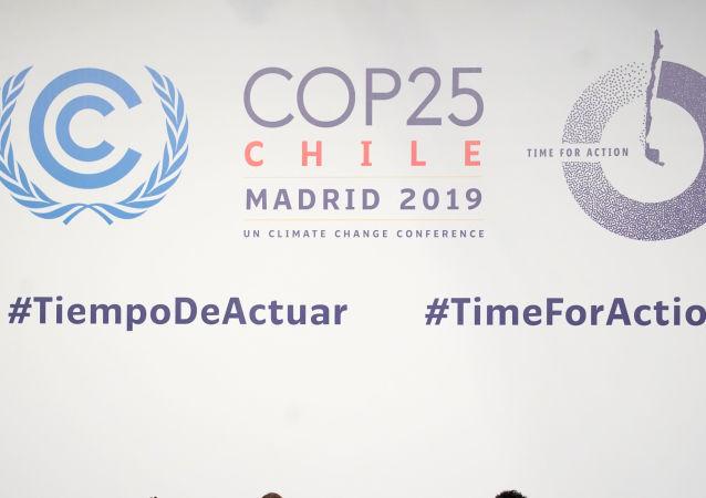 La cumbre del clima en Madrid