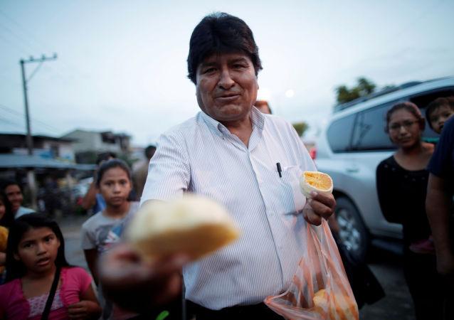 Evo Morales, depuesto presidente boliviano