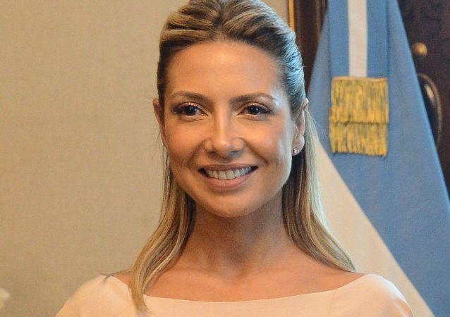 Fabiola Yáñez, primera dama argentina