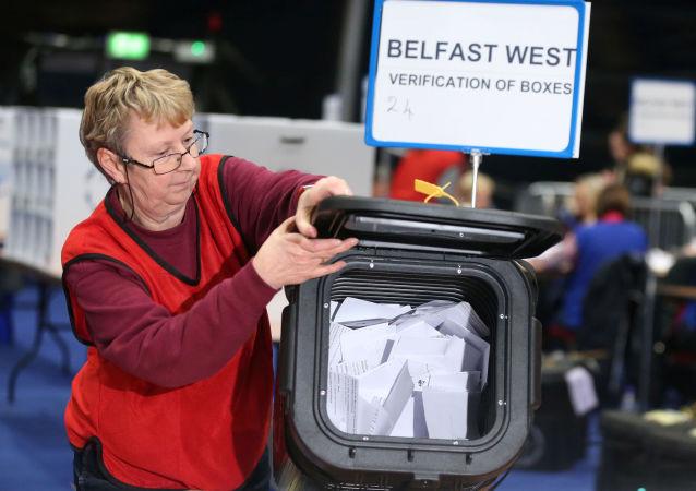 Elecciones del 12 de diciembre en Belfast, Irlanda del Norte