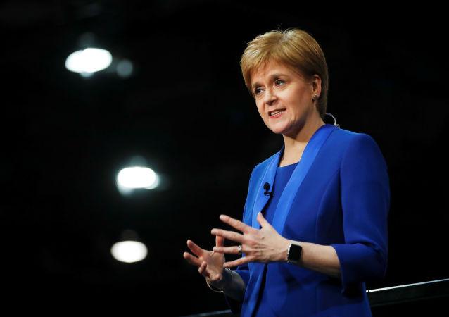 Nicola Sturgeon, la líder nacionalista y ministra principal de Escocia