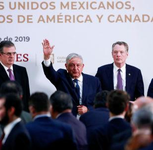 El presidente de México, Manuel López Obrador