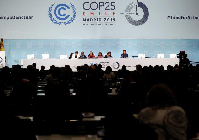 La cumbre COP25 en Madrid