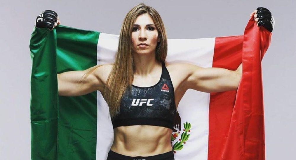 Irene Aldana, luchadora mexicana en la UFC
