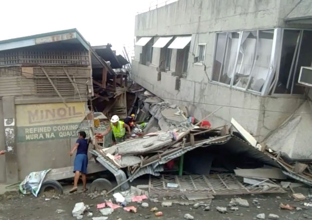 Consecuencias del terremoto en Filipinas