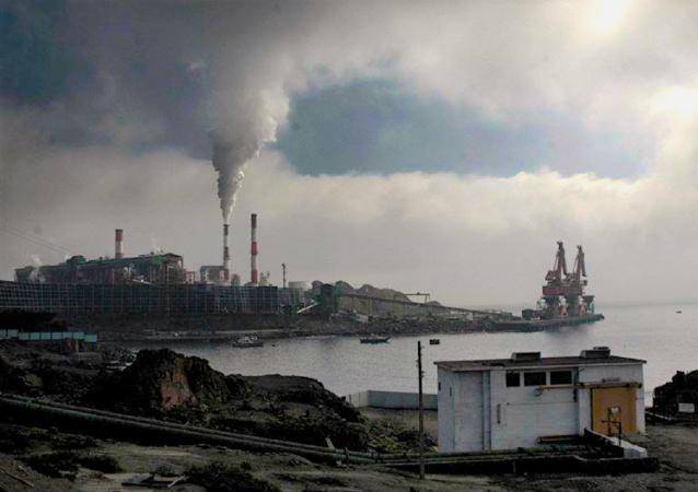 Planta de Pellets, en Huasco, Antofagasta
