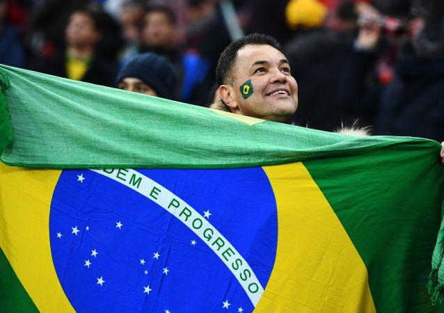 Un hincha brasileño (archivo)