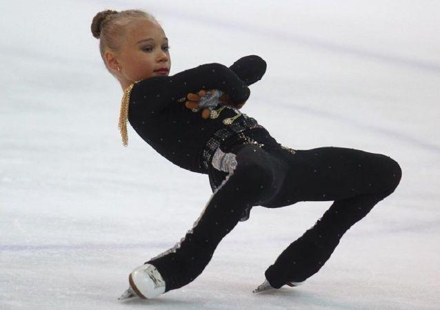 Veronika Zhílina, patinadora artística rusa