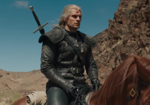 The Witcher, captura de pantalla