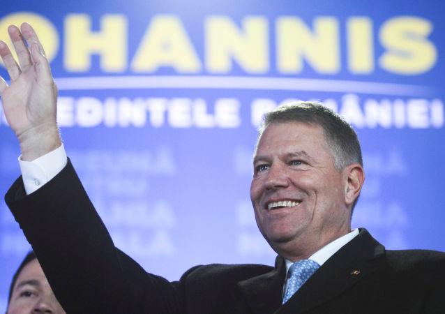 Klaus Iohannis, presidente de Rumanía