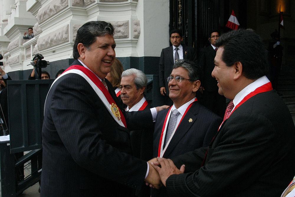 Alan García, presidente de Perú en dos ocasiones