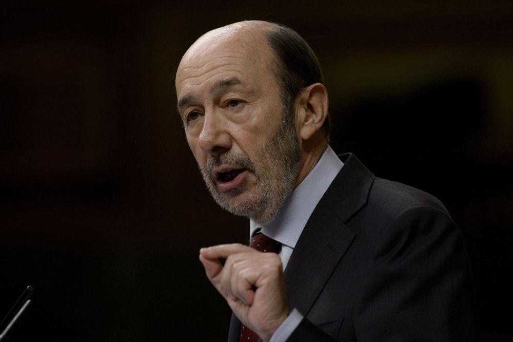 Alfredo Pérez Rubalcaba, político español