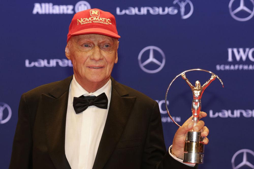Niki Lauda, piloto de Fórmula 1