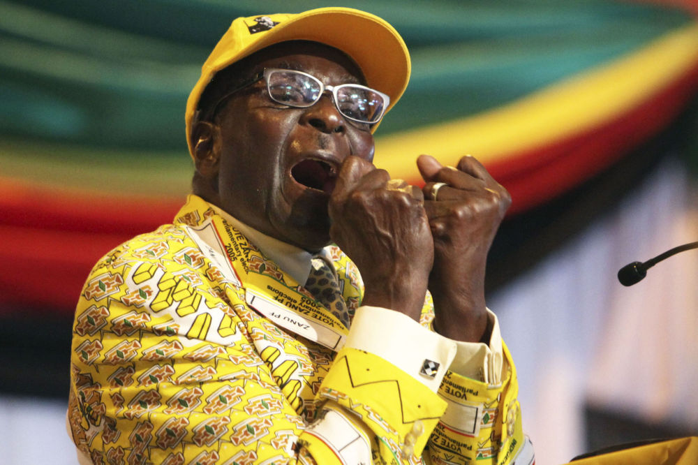 Robert Gabriel Mugabe, presidente de Zimbabue