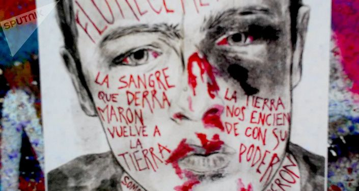 Arte de protesta en Chile - Floreceremos