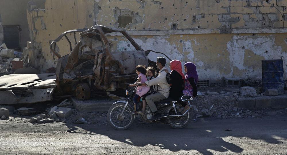 La vida cotidiana en Al Raqa, Siria