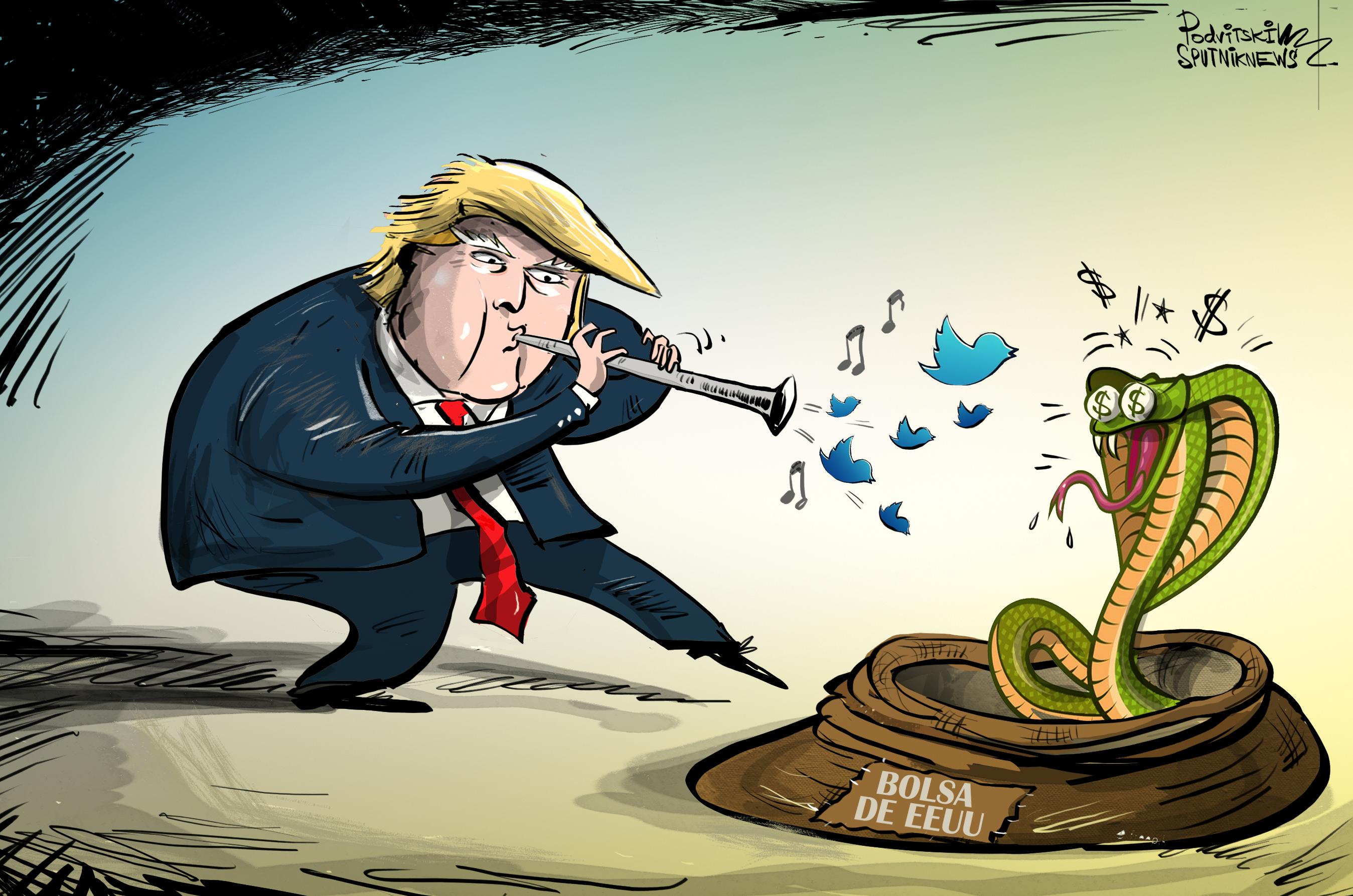 Donald Trump, el 'encantador' de la bolsa de Wall Street