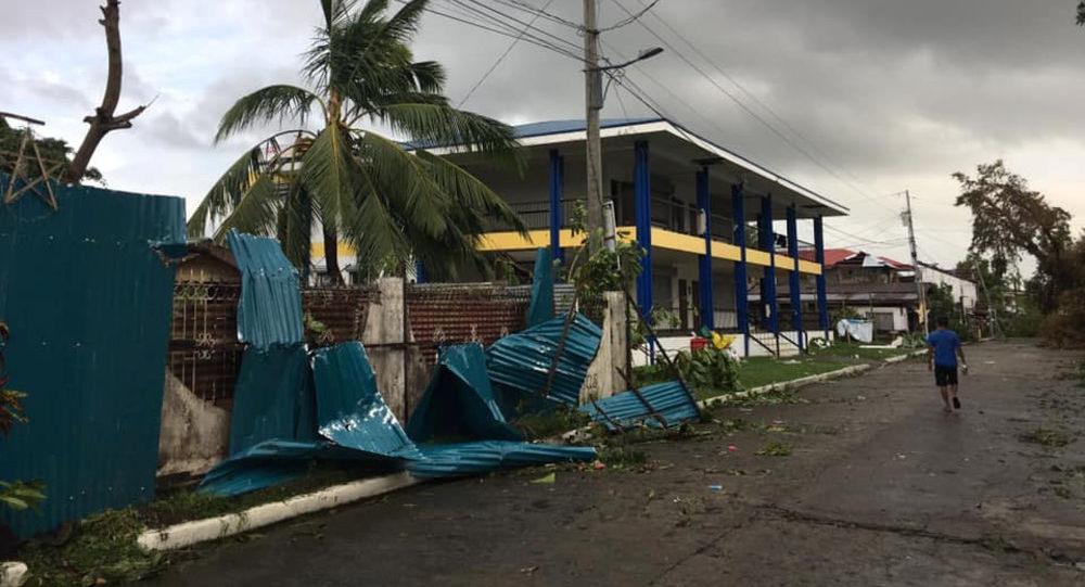 Consecuencias del tifón Ursula en Filipinas