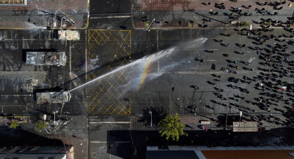 Protestas antigubernamentales en Chile, el 26 de octubre de 2019