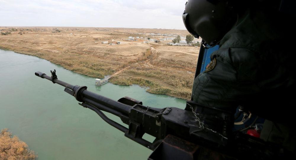 Un miembro de la Fuerzas de Seguridad iraquí